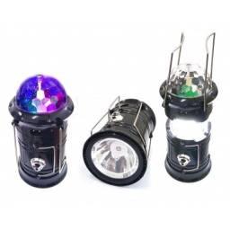 Título do anúncio: Lanterna Lampião Recarregável LK-5801 c/ globo de festa