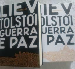 """Guerra e Paz"" /Tolstoi, super seminovo!"