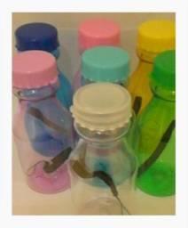 Garrafa De Água De Plástico 350 Ml. R$ 11,00