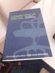 Livro Competência Social, de Lícia e Hugo Egger-Moellwald