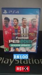 Pés 21 PS4 Novo