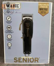 Wahl Senior Black Cordless ORIGINAL novo - somos loja do barbeiro