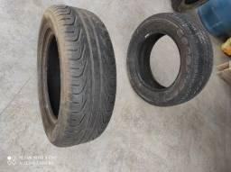 1Pneu 205/60r15 Pirelli e 1 pneu goodyear 195/65r15