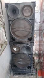 Aparelho de som ( caixa amplificada )