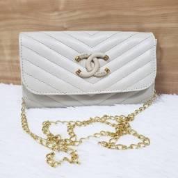 (Na caixa - PROMOÇÃO) Bolsa Chanel em couro [Primeira linha]