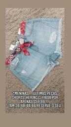 Shorts Hering feminino acompanha faixa