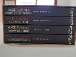 Box livro Maze Runner