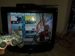 Vendo PlayStation 2 funcionando pefeitamente