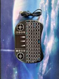 Teclado Mini Wireless com LED
