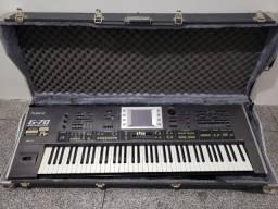 Teclado Roland G-70 Com/Case Faço Troca Com/ Volta De 50% Valor