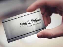 Produto de Elite Cartão Papel Metal Premium Milheiro Valor Promocional