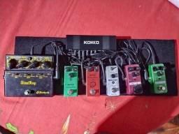 Set de pedais para Guitarra completo