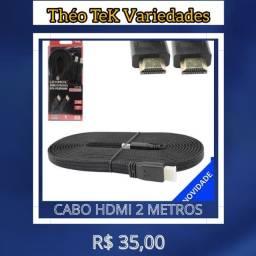 Cabo HDMI 2m HD Alta Velocidade 2.0