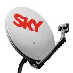 Antena sky k.u 60cm. sem LNB
