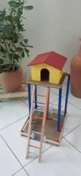 Playgrounds para calopsitas