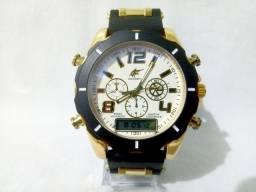 Relógio Masculino Anadigi 2 em 1 Swordfish