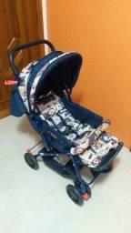 Carrinho de Bebê Voyage Modelo Funny Azul