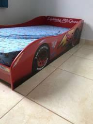 Cama Infantil Pura Magia Carros Disney Plus Vermelha