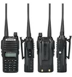 Rádio Comunicador Baofeng Lote 4 Uv-82 Dual Band Rádio Fm<br>