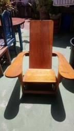 Cadeira de Madeira Avião