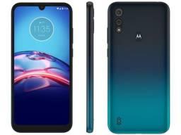 Smartphone Moto E6S 64GB Azul- 4GB Ram (Maga Lu) Contato Via- Whatsapp