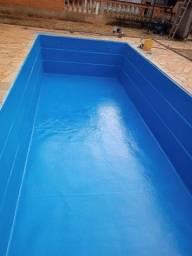 Título do anúncio: Consertos de piscinas banheiras e  caixa d'água