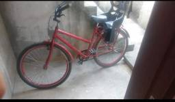 Vendo bicicleta semi nova