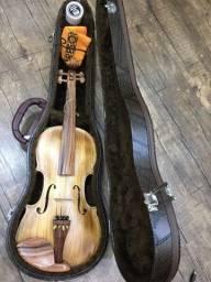 Título do anúncio: Violino 4/4 Nhureson Maestro Alegretto Profissional serie limitada araucaria premium Ccb