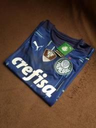 PROMOÇÃO - Camisa de Goleiro do Palmeiras 2021/2022 - Uniforme 1° de Goleiro - Masculino