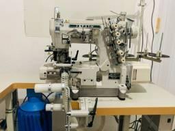 Máquina galoneira p/ colocar elástico fechado japsew