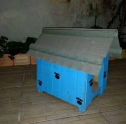 Casinha de madeira para cachorro pinscher (LEIA A DESCRIÇÃO)