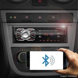 Som Automotivo Para Carro First Option 6630BCN com USB, bluetooth e leitor de cartão