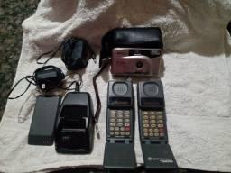 Relíquia ... Primeiro celular que existiu  no Brasil (tijolão) + Maq. Fotografica