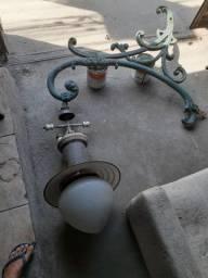 Luminária Rio antigo . Autêntica