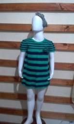 Vestido cotton, infantil, importado, tamanho 3/4anos
