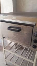 Vendo forno pizza stily ,com resistencia  queimada preço sair logo
