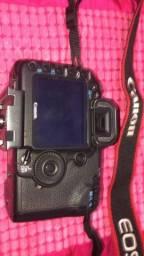 camera 5d mark ii com tripe e lente