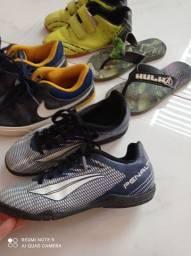 Lotinho de calçados tamanho 29