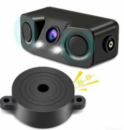 Camera com sensor de ré PZ451