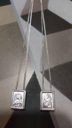 Escapulário em prata