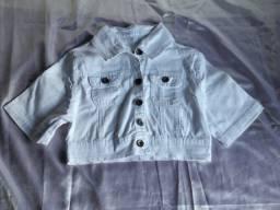 Jaqueta branca - Veste até 42 - P/M