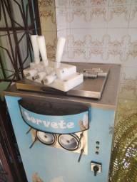 Máquina sorvete expresso nova aceito cartao