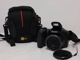 Câmera Digital Sony DSC-H100 CyberShot 16.1 MP LCD 3.0 com Case