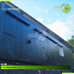 Hamburgueria em Containers