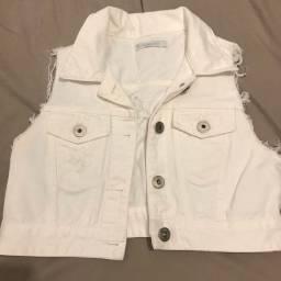 Colete jeans Le Lis Blanc