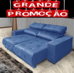 Sofa de 3 lugares Retratil e Reclinavel
