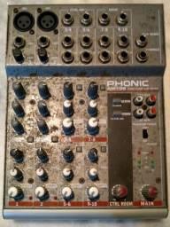 mesa de som Fhonic 10canais