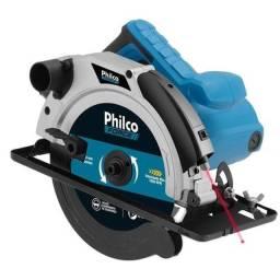 Serra Circular Profissional Philco 1500w Com Guia Laser