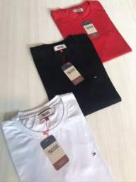 Camisetas da Hugo Boss e Calvin Klein imperdível