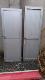Duas portas de alumínio por 200